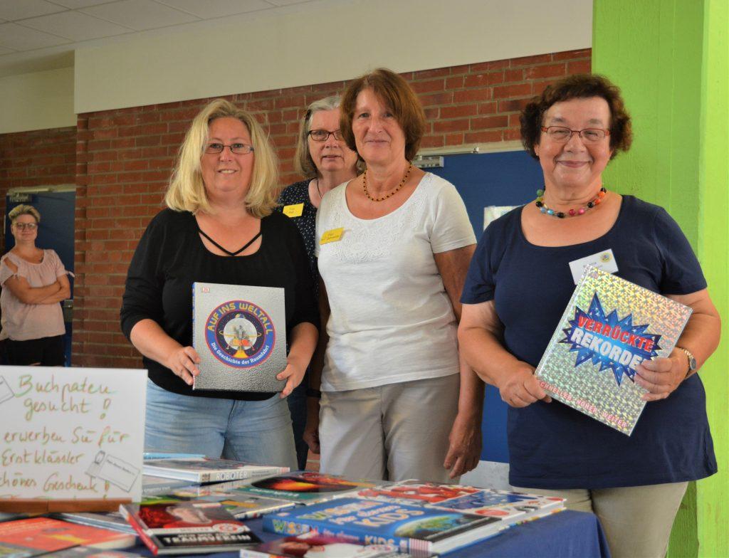 Buchspenden für unsere Bücherei - Vielen herzlichen Dank